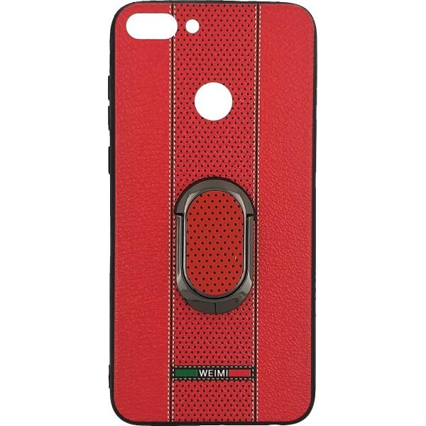 Θήκη Πλάτης TPU Weimi Με Περιστροφικό Stand 360 Για Huawei P9 Lite