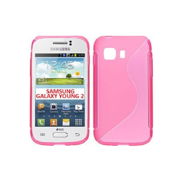 S-Case For Samsung S6310 Galaxy Young Black