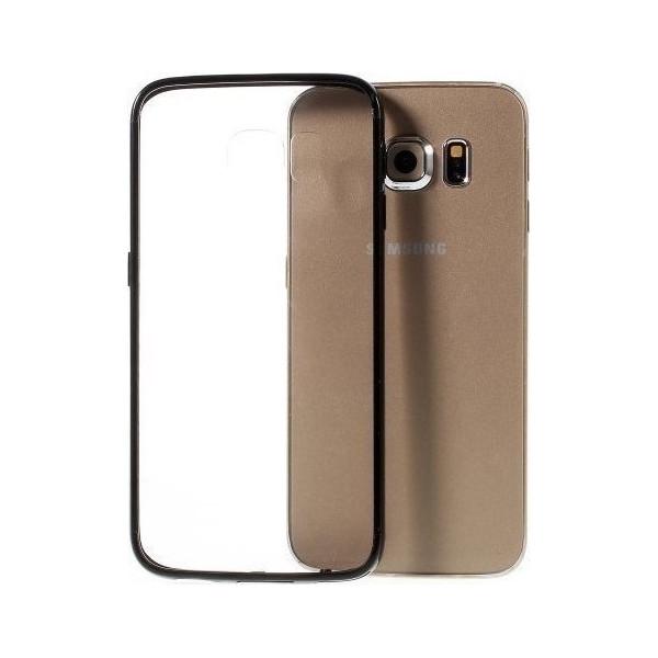 Θήκη Σιλικόνης TPU Με Διάφανη Σκληρή Πλάτη Για Samsung Galaxy J7 Duo
