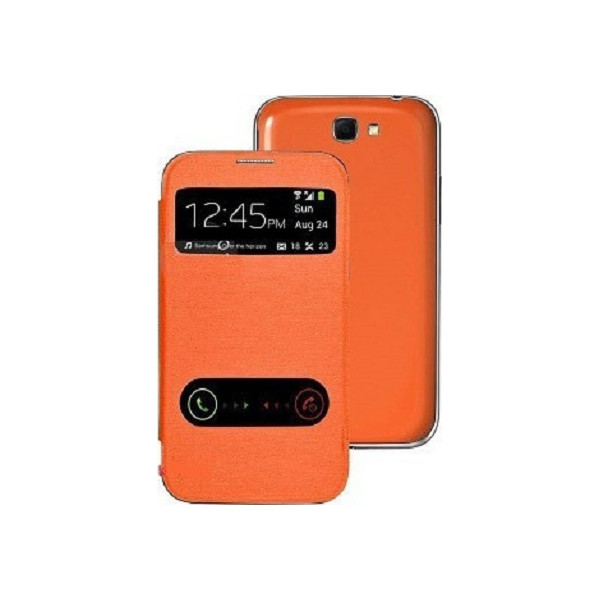 Flip Cover Stand Double Window για HTC Desire 200 Blister