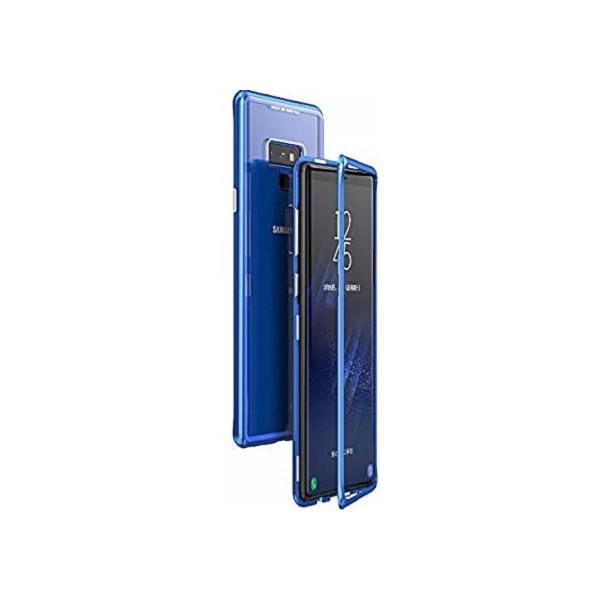 Μαγνητικη Μεταλλικη Θηκη Με Διαφανη Πισω Οψη για Samsung Galaxy Note 9/N960