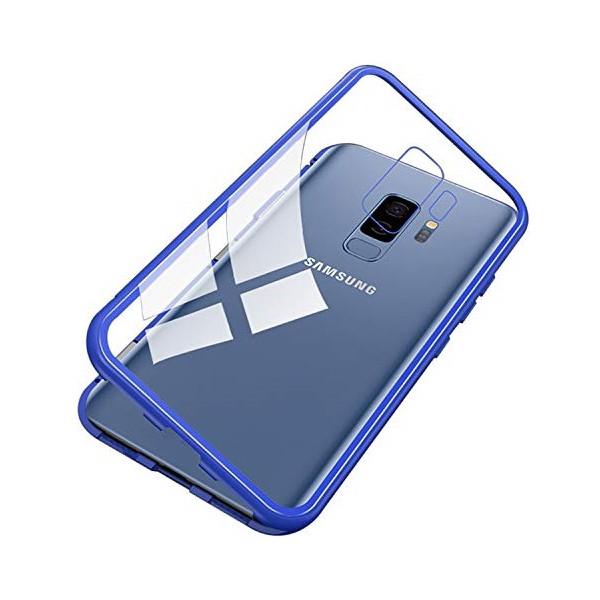 Μαγνητικη Μεταλλικη Θηκη Με Διαφανη Πισω Οψη για Iphone S9 Plus