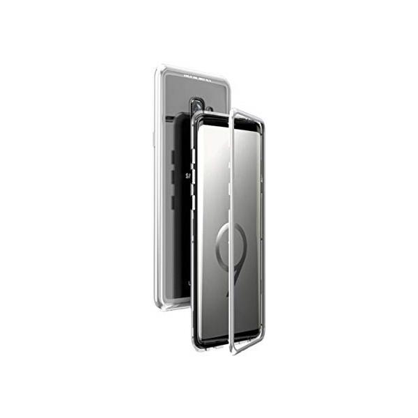 Μαγνητικη Μεταλλικη Θηκη Με Διαφανη Πισω Οψη για Iphone S9