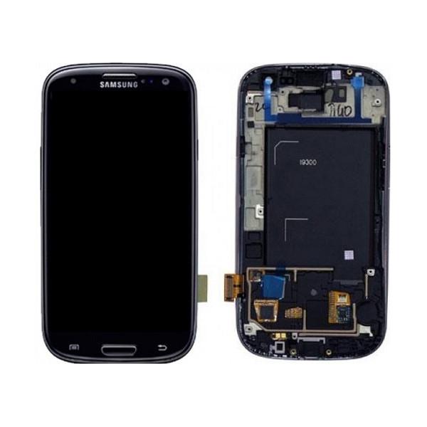 Οθόνη LCD με Frame (πλαίσιο οθόνης) για Samsung Galaxy S3 I9300