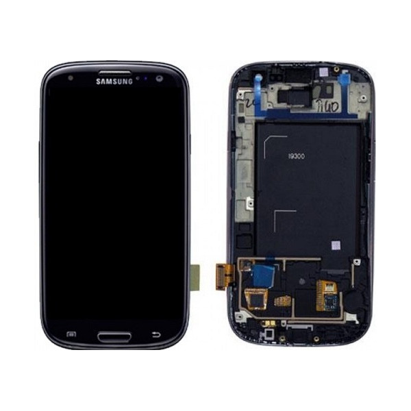 LCD with Frame for Samsung Galaxy Note 2 N7100