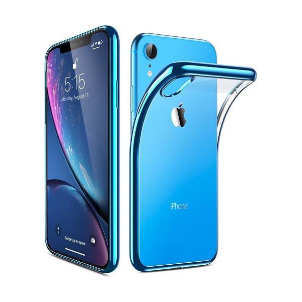 Θήκη Σιλικόνης TPU Με Διάφανη Σκληρή Πλάτη Για Iphone X