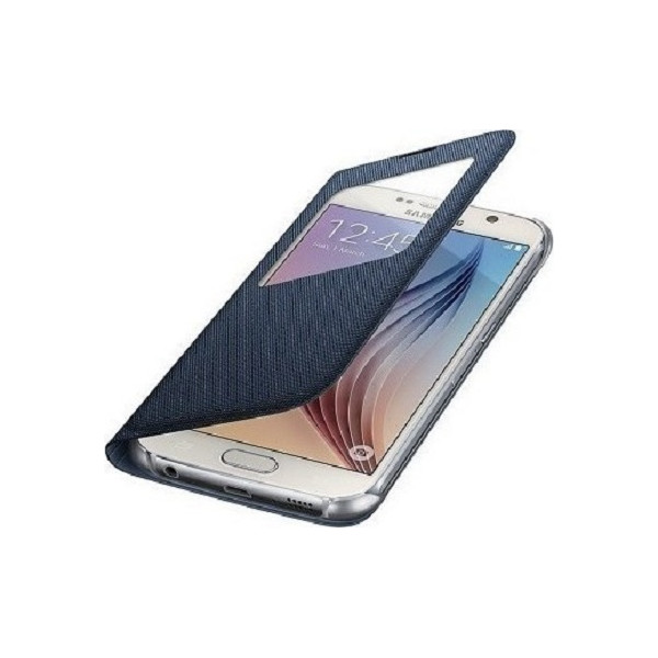 Slim Flip Cover Window Για G900/ I9600 Galaxy S5 Blister