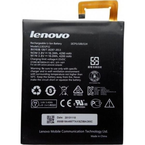 """Μπαταρία Lenovo Tablet A8-50 A5500 8.0"""" L13D1P32 3.8V 16WH 4290MAH"""