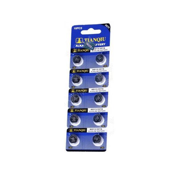 OEM Alkaline Btteries AG13/357A Set 10pcs 1.55V