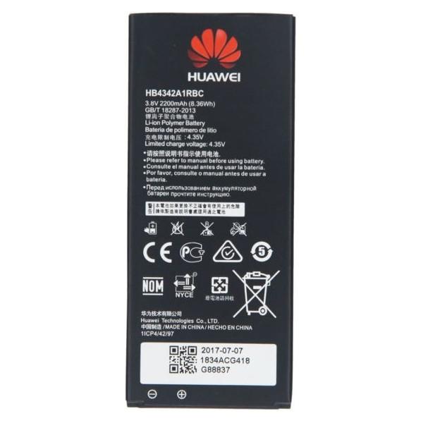 Μπαταρία Huawei HB4342A1RBC Για Huawei Y6, Honor 4A, Y5 2 2200mAh Li-Ion Bulk