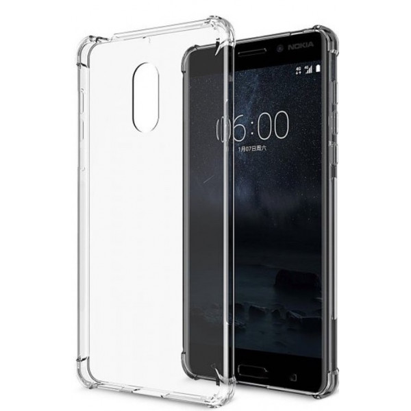 S-Case Anti-Shock 0,5mm Για Nokia 3.1