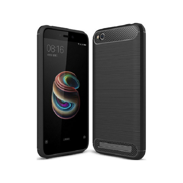 S-Case Carbon Fiber For Xiaomi Redmi 5A Black