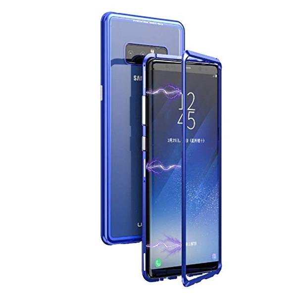 Μαγνητικη Μεταλλικη Θηκη Με Διαφανη Πισω Οψη για Samsung Galaxy Note 8/N950F