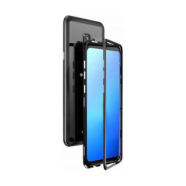 Μagnetic Metal Case with Transparent back made of tempered glass for J4+