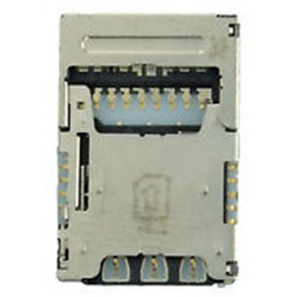SIM-MEMORY Reader For Υποδοχή Κάρτα Sim Για LG K10 (2017) M250N Original