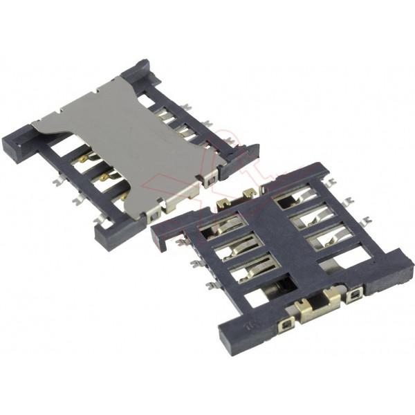 Υποδοχή Κάρτα Sim Για Huawei Ascend Y560 Original