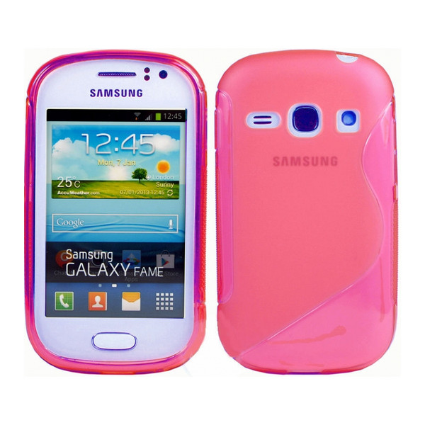 S-Case For Samsung S6810 Galaxy Fame Transparent