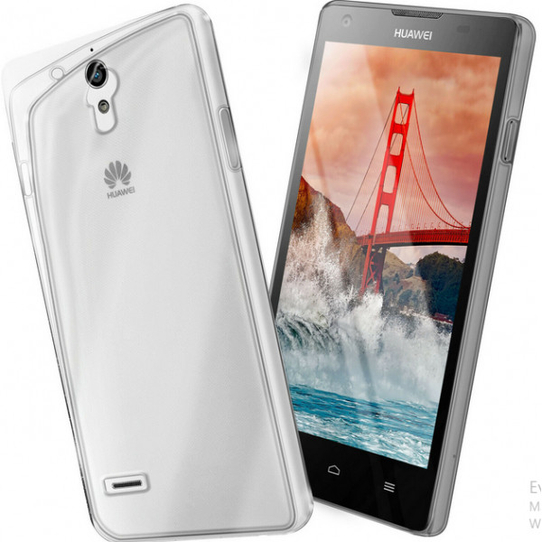 Ultra Slim S-Case 0,3MM Για Huawei Ascent G700