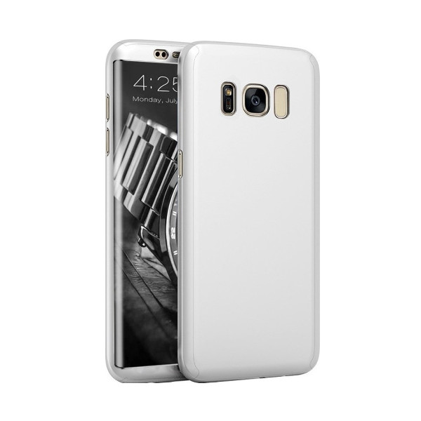 360 Full Body Case + Tempered Glass For Samsung G955F Galaxy S8 Plus