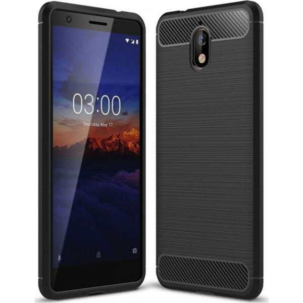 S-Case Carbon Fiber Για Nokia 3.1