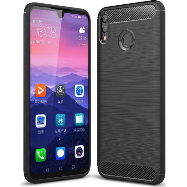 S-Case Carbon Fiber Για Huawei Honor 10 Lite / P Smart 2019