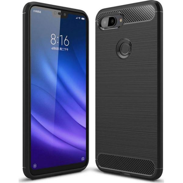 S-Case Carbon Fiber Για Xiaomi Mi 8 Lite