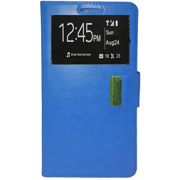 Book Case Stand Window Για ZTE Blade A450