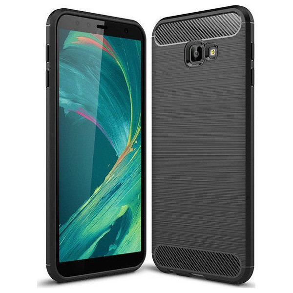S-Case Carbon Fiber Για Samsung Galaxy J4 Plus 2018