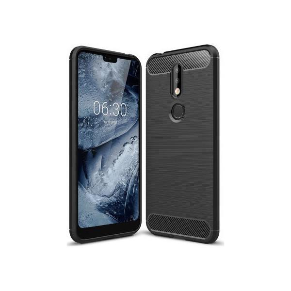 S-Case Carbon Fiber Για Nokia 7.1