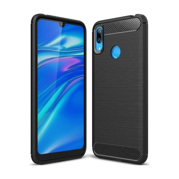 S-Case Carbon Fiber Για Huawei Y7 2019