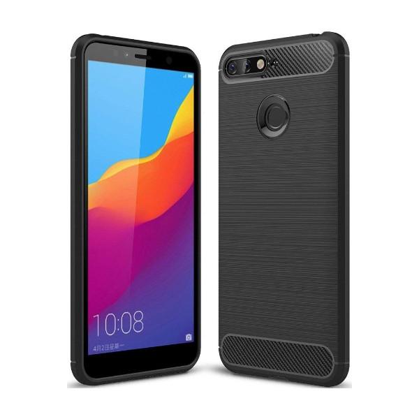 S-Case Carbon Fiber Για Huawei Y6 2018/Y6 Prime 2018