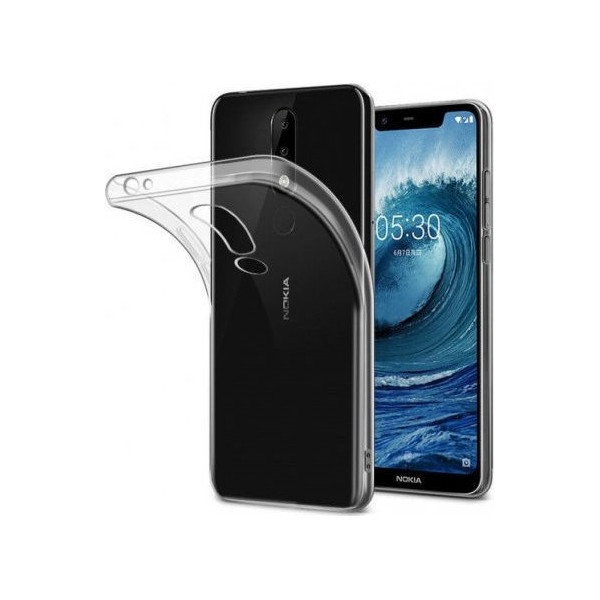 Ultra Slim S-Case 0,3MM Για Nokia 5.1 Plus / X5 2018