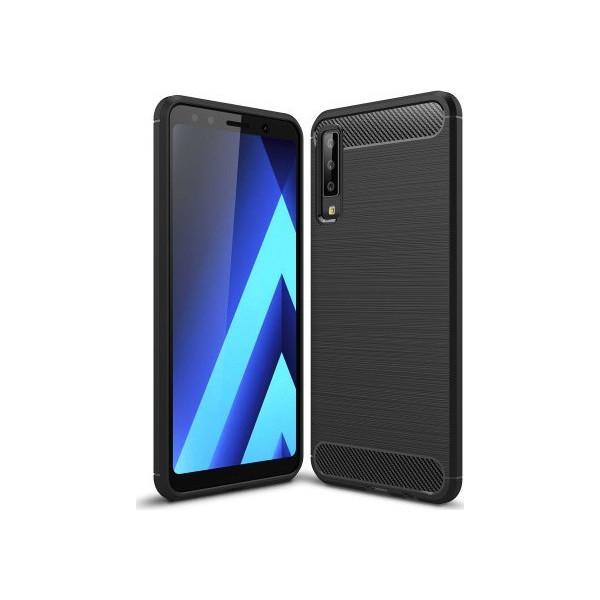 S-Case Carbon Fiber Για Samsung Galaxy A750 A7 2018