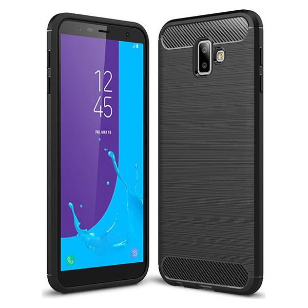 S-Case Carbon Fiber Για Samsung Galaxy J6 Plus 2018