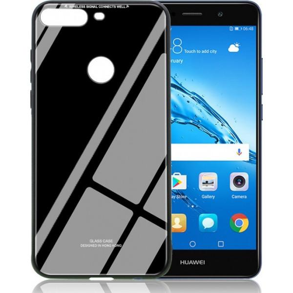 Θήκη TPU Glass Style για Huawei Y7 Prime 2018 / Honor 7C/Y7 2018