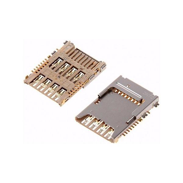 Αναγνώστης Κάρτας SIM Και Κάρτας SD Για Samsung J100 Galaxy J1 Original