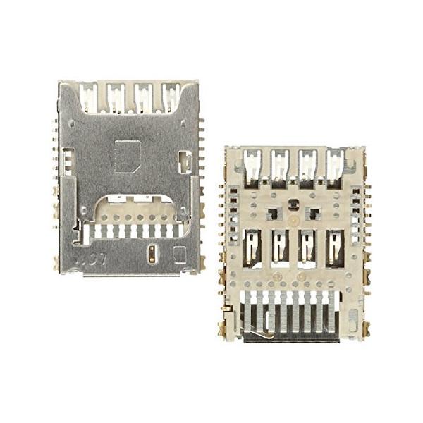Sim Card Reader And Micro SD For LG G3 (D855) Original