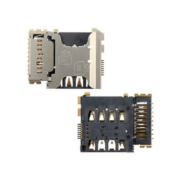 Sim Card Reader And SD Card For Samsung Samsung I8260 Galaxy Core Original