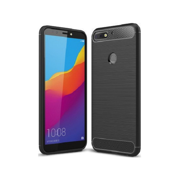 S-Case Carbon Fiber Για Huawei Y7 2018/Y7 Prime 2018/Honor 7C