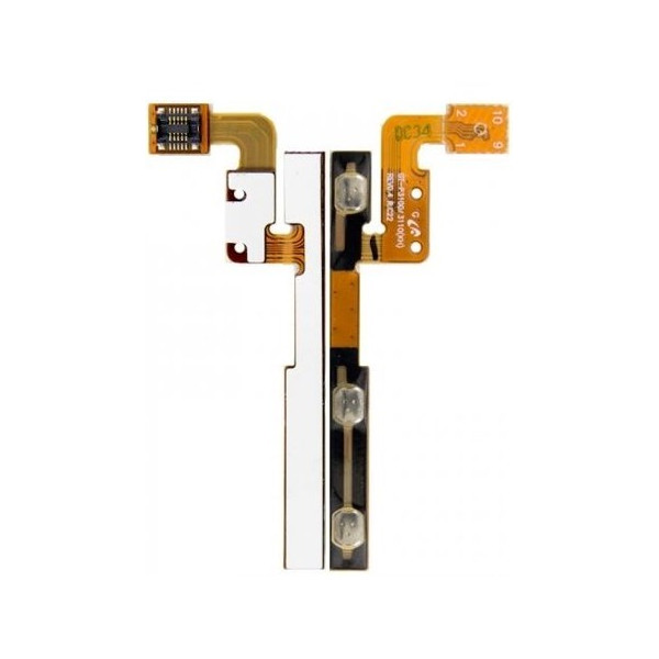 Καλωδιοταινία Power On/Off & Volume flex για Samsung Galaxy P3100