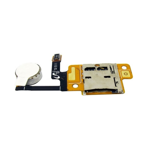 Καλωδιοταινία Μemory card reader flex with vibrator για Samsung N5100