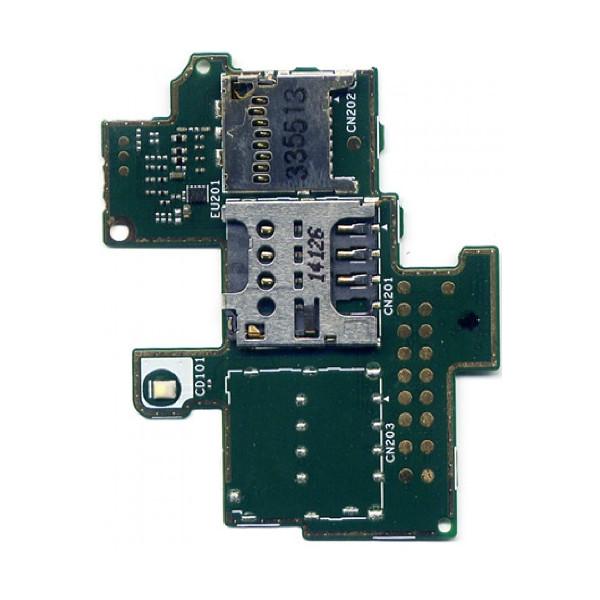 Καλωδιοταινία Υποδοχής SIM για Sony Xperia M C1905 - C1904