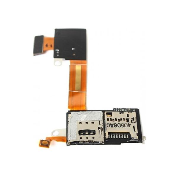 Καλωδιοταινία SIM Και Micro SD για Sony Xperia M2 D2303 - D2305