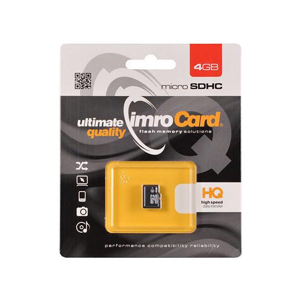 IMRO Κάρτα Μνήμης SDHC 4GB (Class 10)