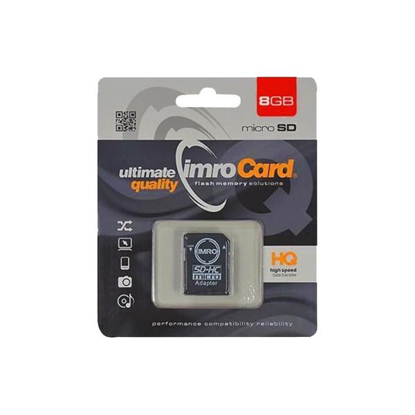 IMRO Κάρτα Μνήμης SDHC 8GB (Class 10)