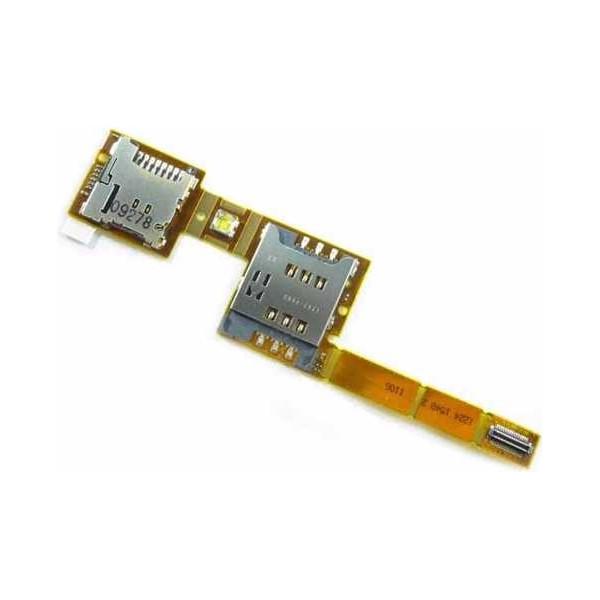 Καλωδιοταινία Flex Sim microSD Reader για Sony Ericsson X10