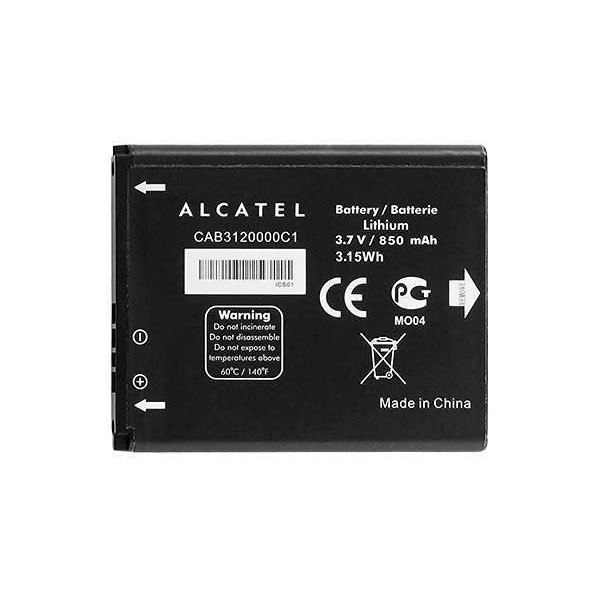 Battery Alcatel CAB3120000C1 Li-Ion 3.7V 850mAh Original