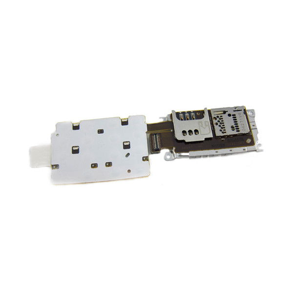 Keypad Board With Sim Card And Memory Card Flex For Nokia X3-02