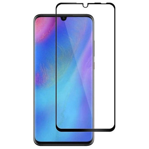 Tempered Glass 0.3mm 9H Για Huawei P30 Lite Full Cover