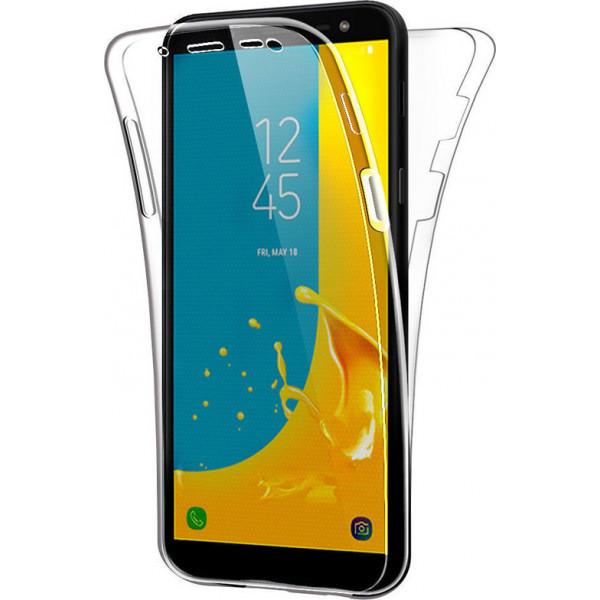 Front/Back Ultra Slim S-Case 0,3MM Για Samsung J6 Plus